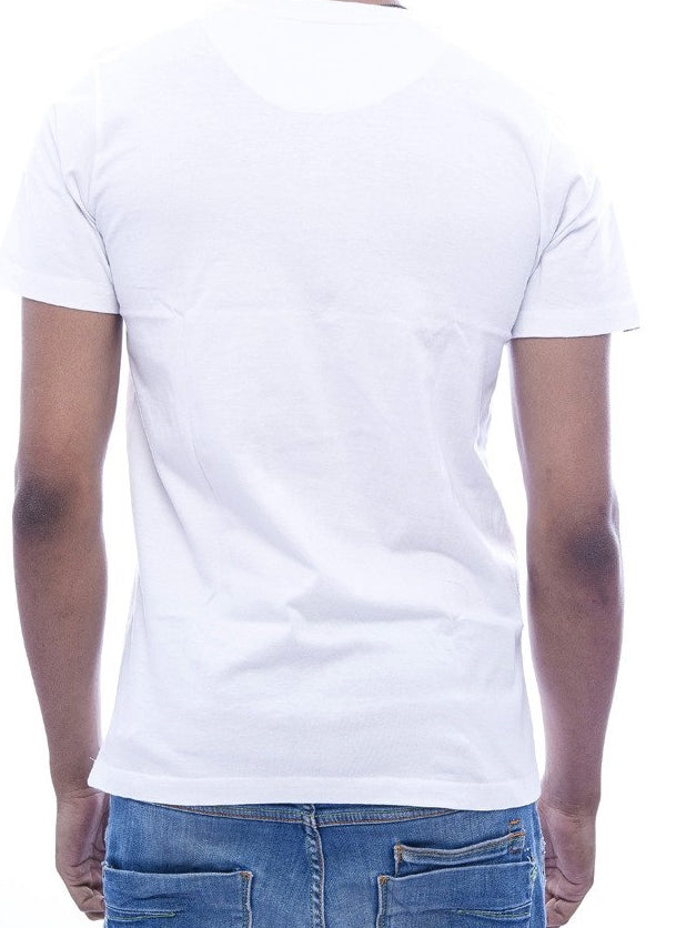 Gothic Reflection White Fitted T-Shirt