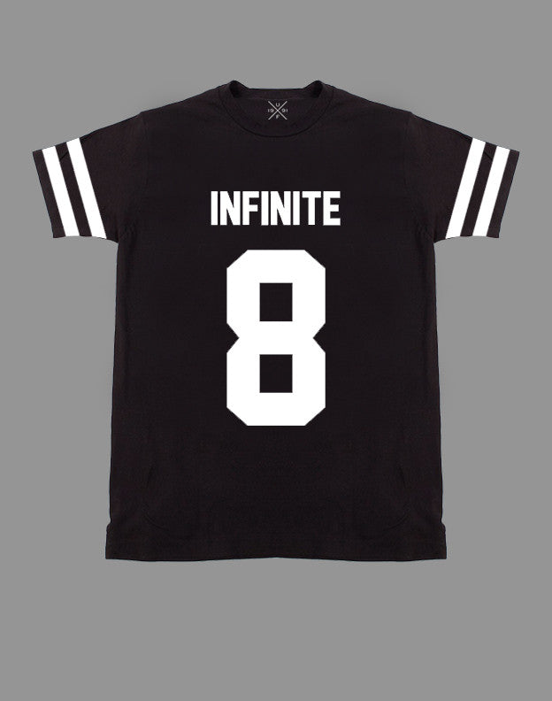 Infinite 8 Black Fitted T-Shirt