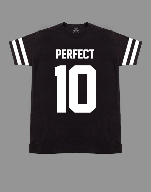 Perfect 10 Black Fitted T-Shirt