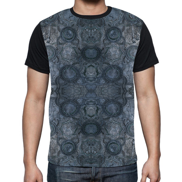 Pompei Black Fitted T-Shirt