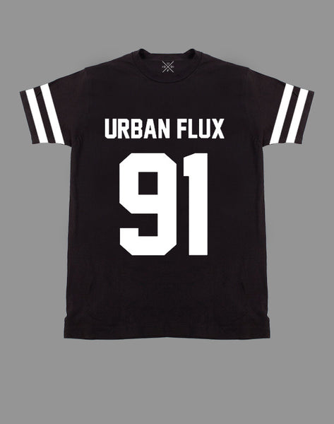 Urban Flux 91 Black Fitted T-Shirt