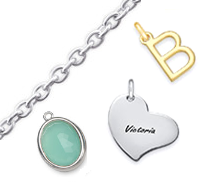 Personalized DIY Charm Necklaces