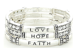 Inspirational and Scripture Bracelets