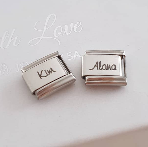 Personalized Name Charms