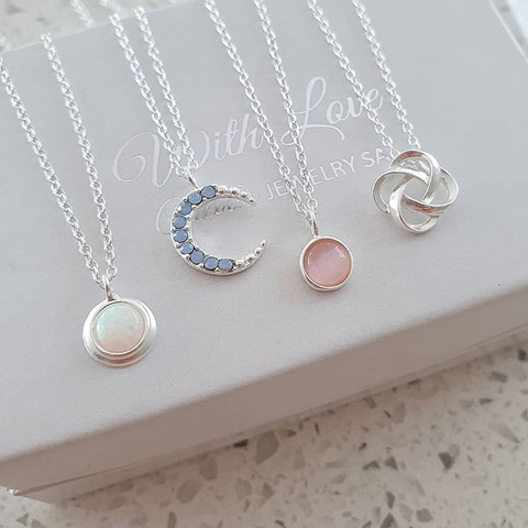 Sterling Silver In Style Necklaces