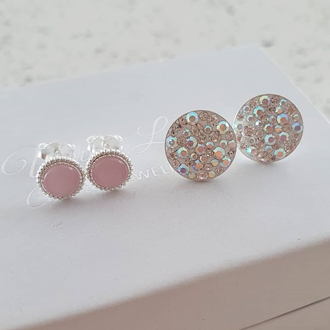 Silver Earrings, Studs & Cuffs