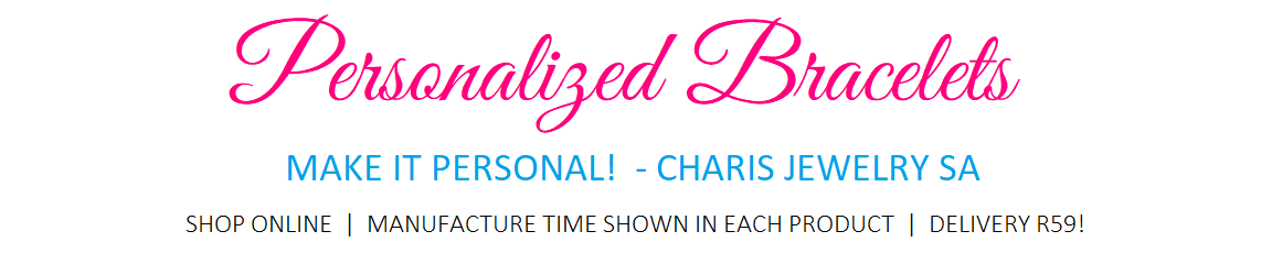 Charis Jewelry SA Personalized Bracelets and Jewelry Gift Store online South Africa