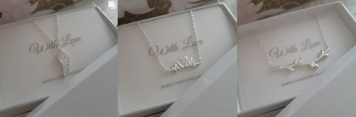 Sterling silver necklaces Charis Jewelry SA Online Jewelry Shop