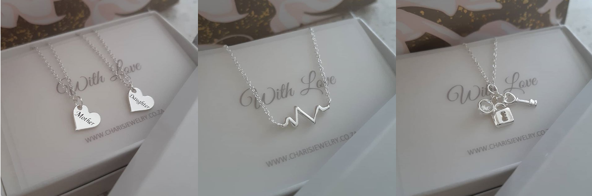 Sterling silver necklaces Charis Jewelry SA Online Jewelry Shop in SA