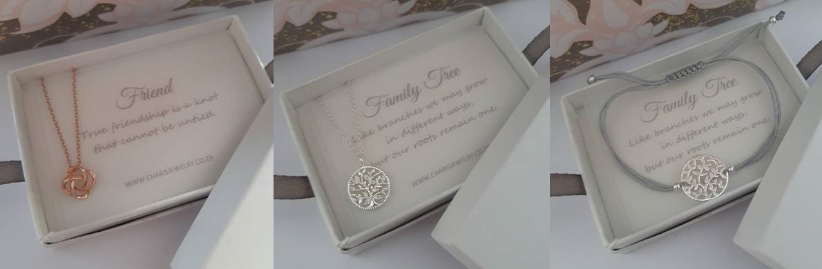 Charis Jewelry SA Family Tree and Friendship Jewellery Necklaces