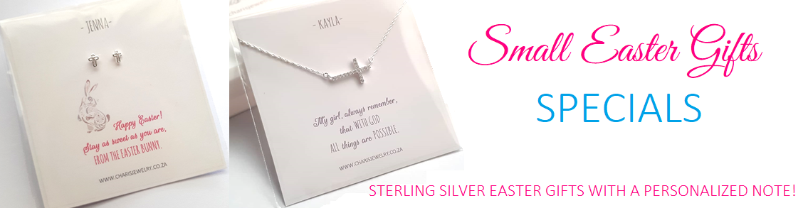 Easter small jewelry gifts charis jewelry sa sterling silver easter gifts online store in south africa negle Choice Image
