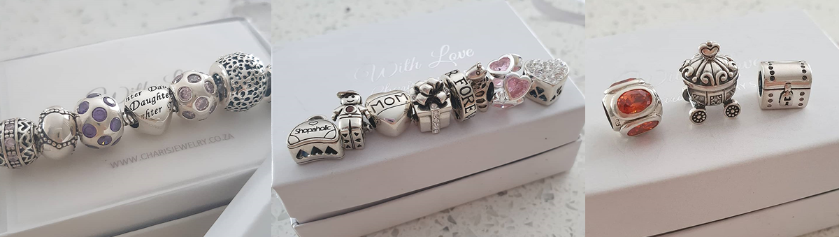 Silver Charms, European charm beads and bracelets