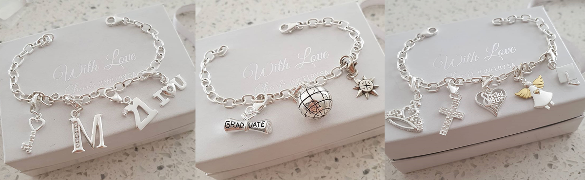 Silver Charms and Charm Bracelets