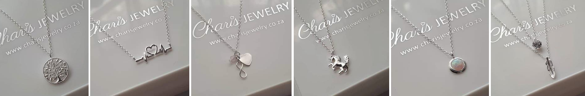 Latest in fashion beautiful sterling silver gift necklaces, online shop in South Africa