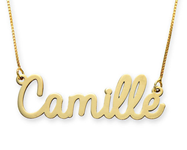 N475 - 10K Solid Gold Personalized Name Necklace