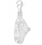 SSCM006 - Sterling Silver Watch with Crystal