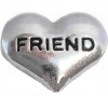 FLC22 - Friend, Floating Locket Charm