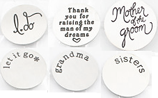 HLD4 - Ready Made Word Plates for Floating Locket