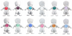 Floating Locket Children birthstone charms