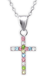 silver children's Cross necklace online store in South Africa