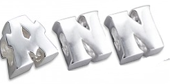 A3 - 925 Sterling Silver Letters or Initials European Charm Beads from A-Z