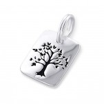 C16310 - Sterling Silver Tree Dangle Charm