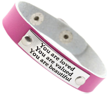 T7 - You are loved, adjustable costume jewelry strap