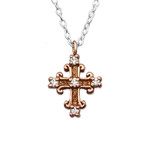 C196-C27859 - 925 Sterling Silver Cross Necklace