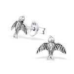 sterling silver bird ear studs online store South Africa