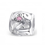 B41-C3788 - 925 Sterling Silver Love Barrel European Charm