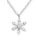 C590-C24660 - Sterling Silver Snowflake Necklace
