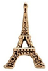 FLC147 - Eiffel Tower Gold Tone charm for Floating Locket