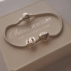 40th Birthday jewelry gifts charms and bracelet online store South Africa