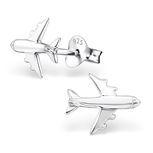 Sterling Silver Airplane Ear Studs / Earrings online store South Africa