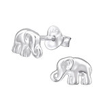 Sterling Silver Elephant Earrings, online store in South Africa