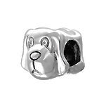 C1199-C2876 - 925 Sterling Silver Sister Dog Charm Bead