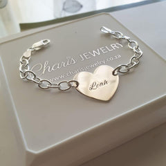 Personalized sterling silver bracelets, online shop in SA