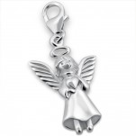 C118-14516 - 925 Sterling Silver Angel / Fairy Dangle Charm