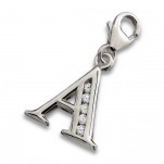 A2-C13454 - 925 Sterling Silver A-Z Letter Initial Charm Dangle