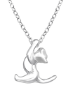 C742-C32228 - 925 Sterling Silver Cat Necklace