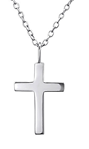 C728-C23539 - 925 Sterling Silver Cross Necklace