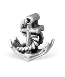 C298-C28195 - 925 Sterling Silver Anchor European Charm Bead