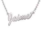 sterling silver personalized mini name necklace online store in SA