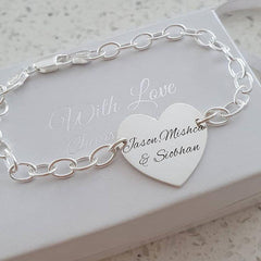 Personalized silver bracelet online store in South Africa