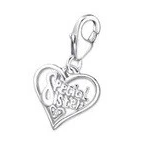 C582-C14520 - 925 Sterling Silver Special Sister Charm