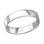 C1428-C28204 - 925 Sterling Silver Men's Band Ring