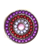 20SC2-003 - Design Snap Button Charm Large