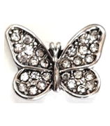 20SC1-022 - Butterfly Snap Button Charm Large