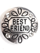 20SC1-021 - Best Friend Snap Button Charm Large