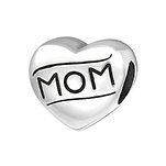 A9-C17133 - 925 Sterling Silver Mom European Charm Bead